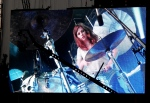 Bloc Party sensual drummgirl