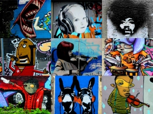 global street art music