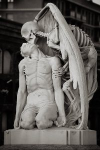 Barcelona's Poblenou Cemetery The Kiss of Death op