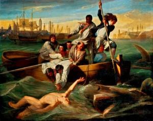 John Singleton Copley WATSON AND THE SHARK B