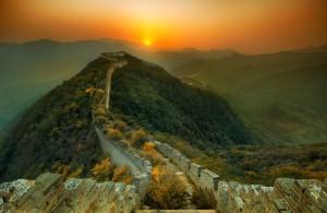 Trey Ratcliff - China 2011 - A Great Wall at Sunset-L