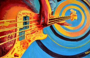 abstract_bass_guitar_painting_by_ilyagalayda-d4o36l5